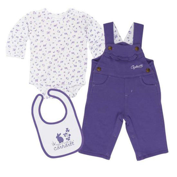 Carhartt Infant Girl's Bunny Friends Set