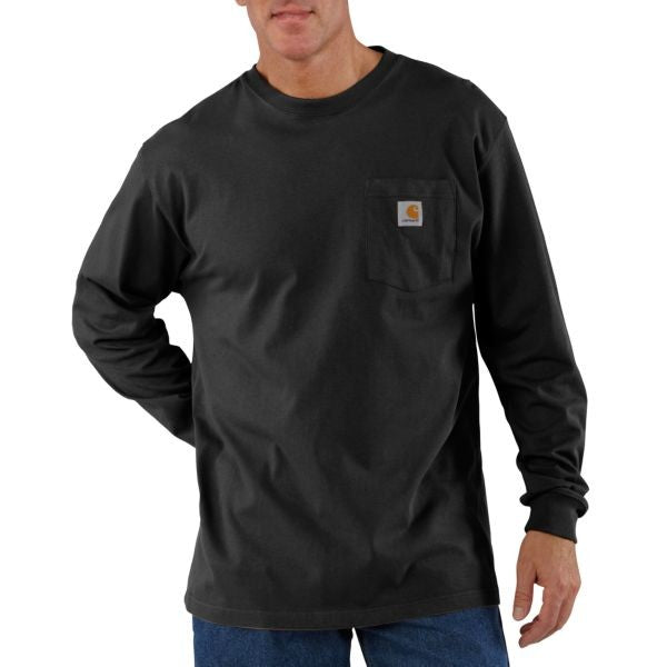 Carhartt Men`s Workwear Pocket Long-Sleeve T-Shirt