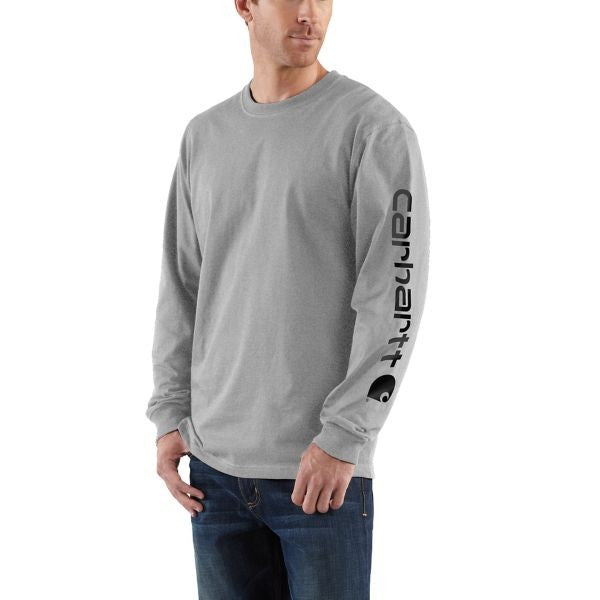 Carhartt Men's Signature Sleeve Logo Tee