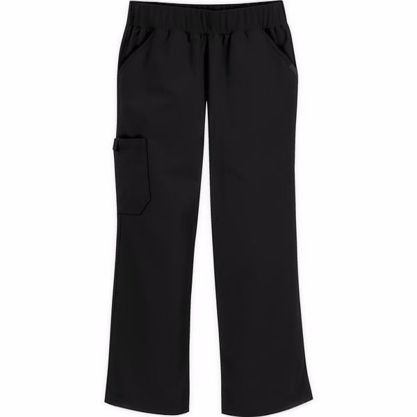 Cherokee Flexibles Mid Rise Knit Waist Pant
