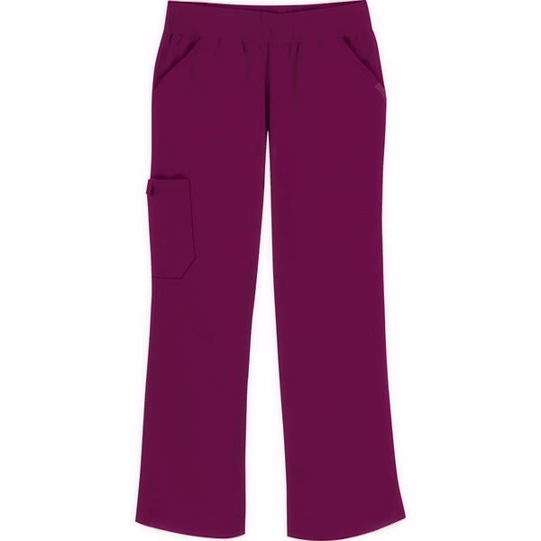 Cherokee Flexibles Mid Rise Knit Waist Pull-on Pant