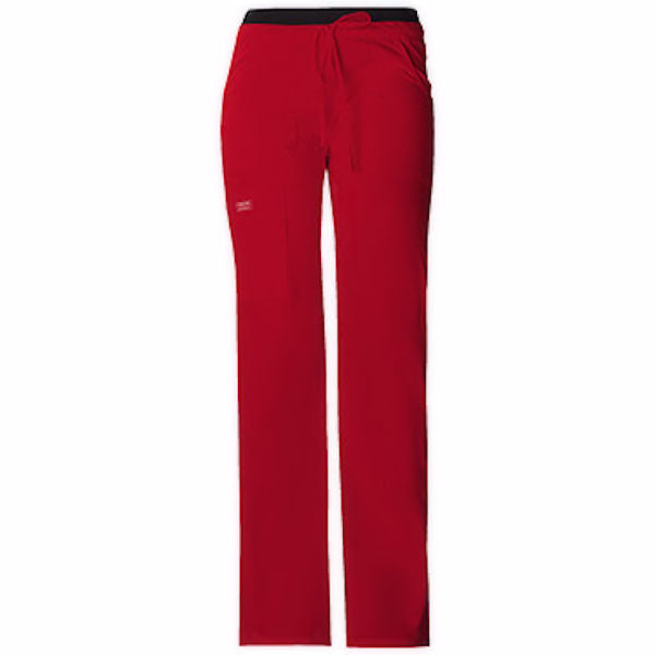 Cherokee Workwear Core Stretch Low Rise Drawstring Cargo Pant