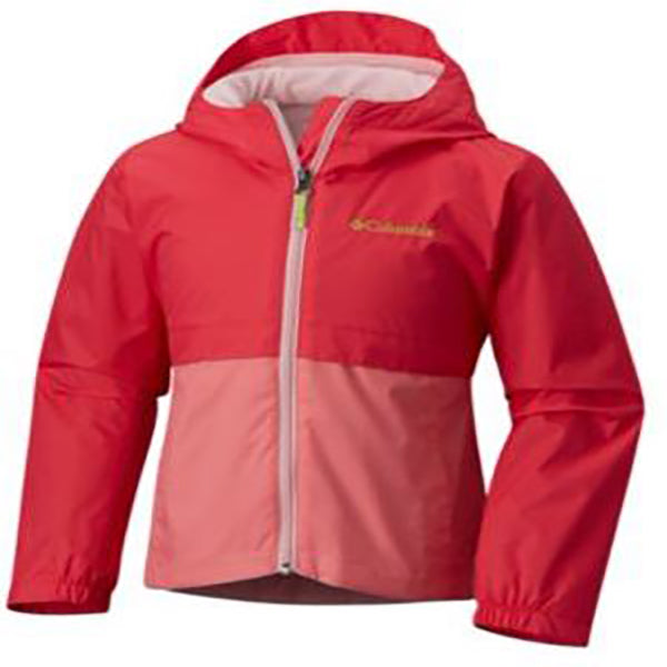 Columbia Toddler Girl's Rain-Zilla Jacket -Pink-