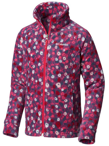 Columbia Girl's Benton Springs Jacket -Floral-