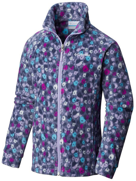 Columbia Girl's Benton Springs Jacket -Violet-