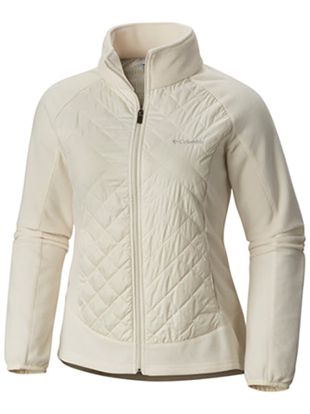 Columbia Women's Warmer Days Jacket -Chalk White-