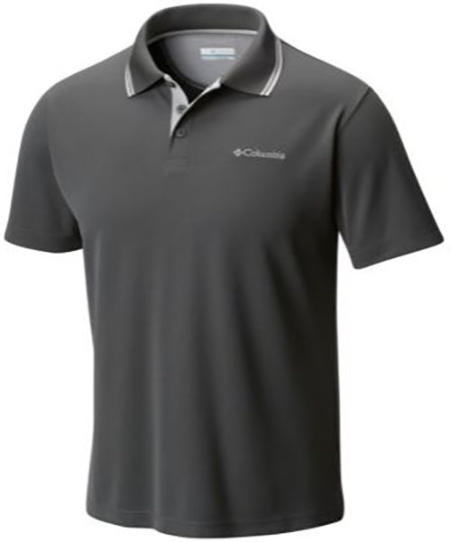Columbia Men's Short Sleeve Utilizer Polo -Grill-