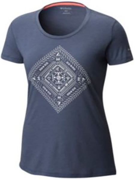 Columbia Women's Summer Festival Tee -Nocturnal-