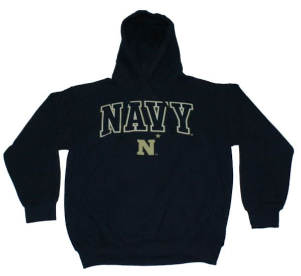 Navy Men`s Zone II Pull Over Hoodie
