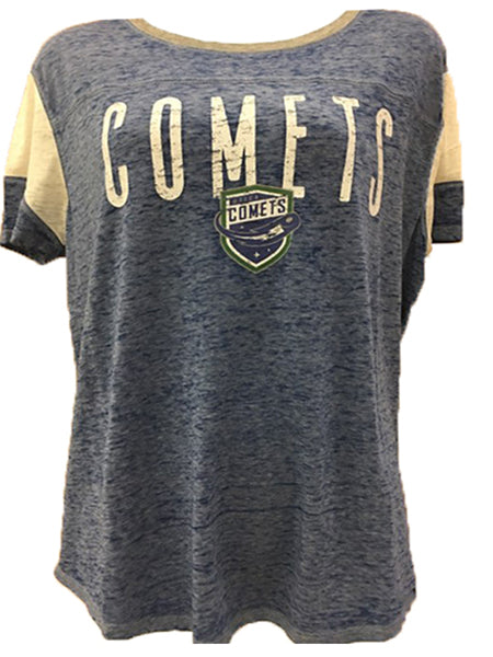 Utica Comets Women's Fade Out Tee