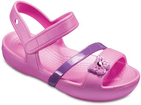 Crocs Girl's Lina Sandal -Party Pink-