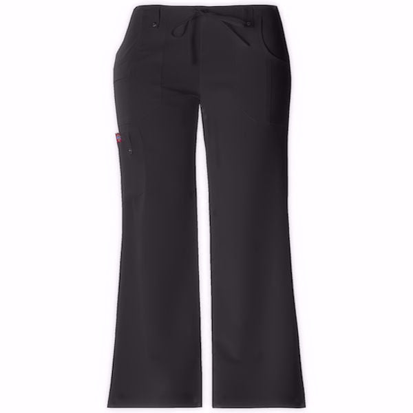 Dickies Women's Xtreme Stretch Scrub Pants -Black-