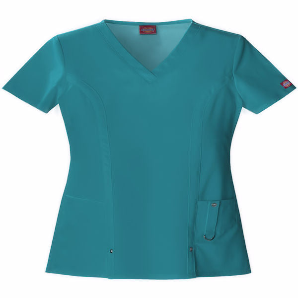 Dickies Women's Junior Xtreme Stretch Scrub -Teal-