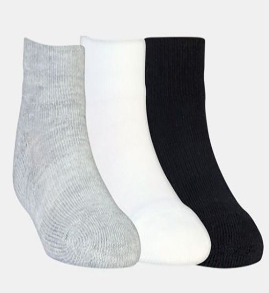 MB55 by Excell Diabetic Low Micro Socks 3-Pk  -Mul