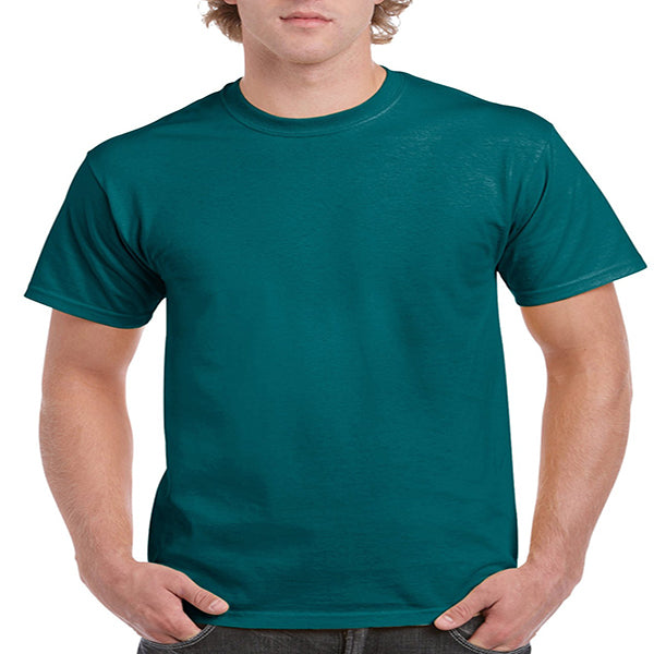 Gildan Adult Ultra Cotton Tee 2X -Galapagos Blue-