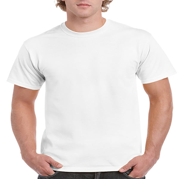 Gildan Adult Ultra Cotton Tee 2X -White-