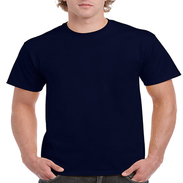 Gildan Adult Ultra Cotton Tee 2X -Navy-