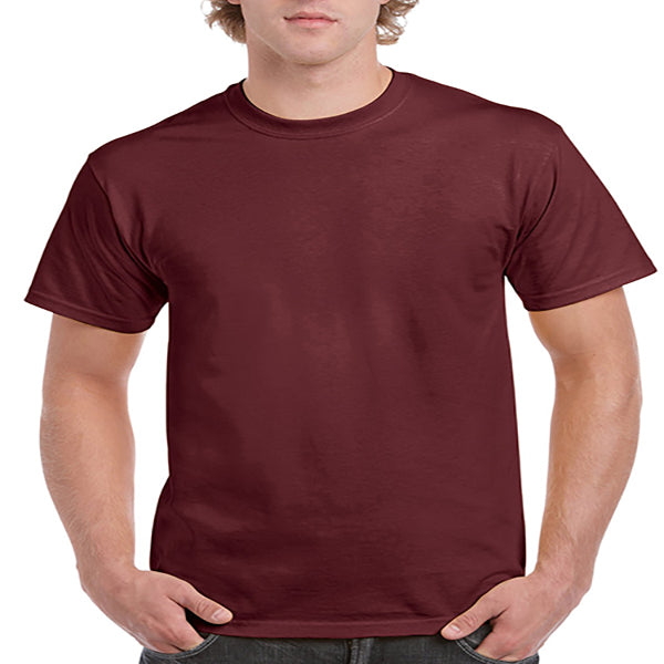 Gildan Adult Ultra Cotton Tee 2X -Maroon-