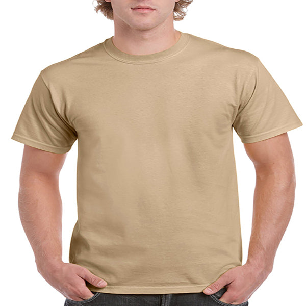 Gildan Adult Ultra Cotton Tee 2X -Tan-