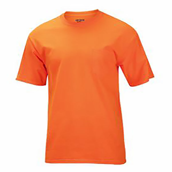 Gildan Men's Ultra Cotton Hi-Vis Tee 2pk -Orange-