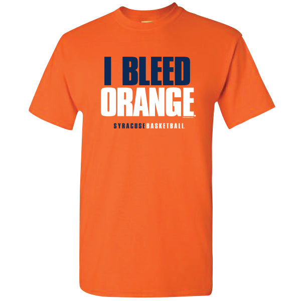 Syracuse Men's I Bleed Orange T-Shirt -Orange-