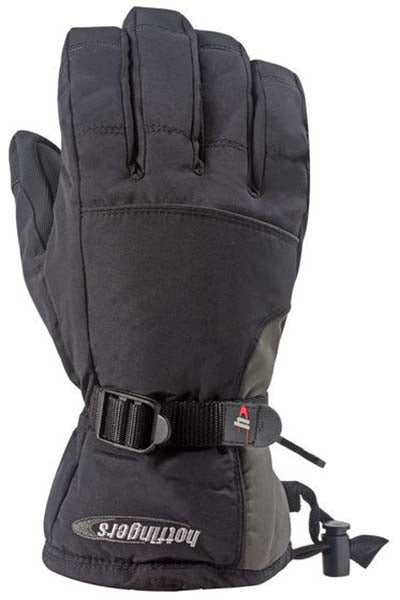 Hotfingers Youth Rip-N-Go 2 Gloves -Black/Gray-
