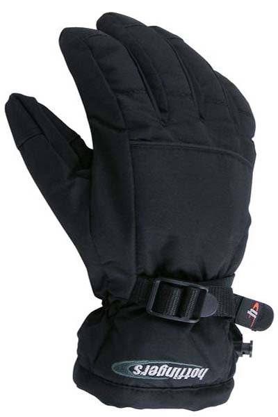 Hotfingers Youth Rip-N-Go 2 Gloves -Black-