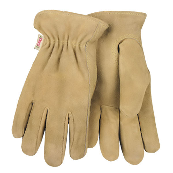 d036ae6a4035d Kinco Womens Lined Suede Cowhide Leather Glove