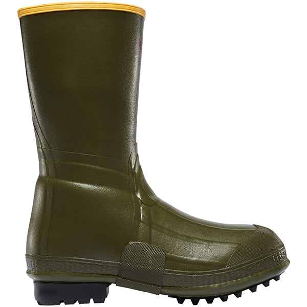 Lacrosse Men's Air Grip 12in Rubber Boot -Green-