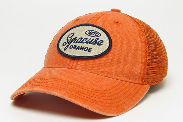 Syracuse Dashboard Trucker Cap -Orange-