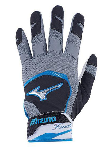 Mizuno Women's Finch Batting Glove -Black-