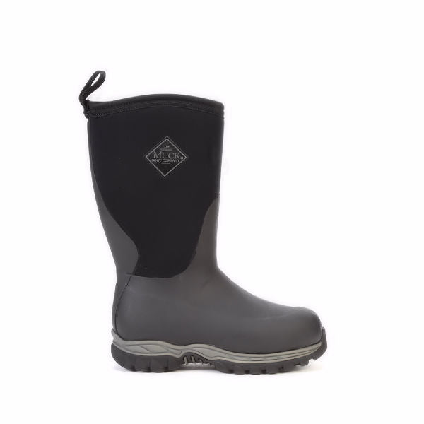 Muck Boy's Rugged II Rubber Boot -Black-