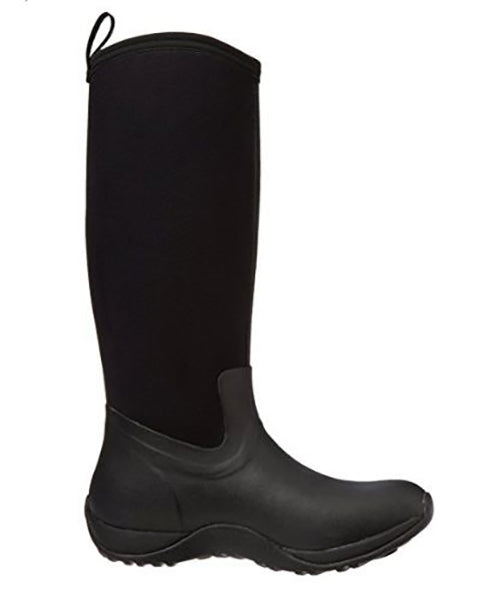 Muck Women's Artic Adventure Rubber Boot -Black-