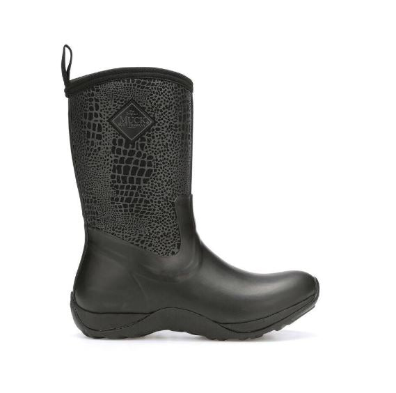 Muck Women's Artic Weekend Rubber Boot -Black-