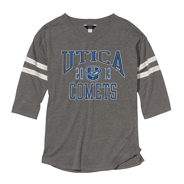 Utica Comets Woman's Hope Short Sleeve Tee - Graph