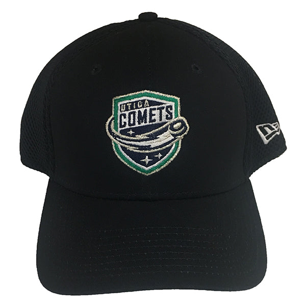 Utica Comets Mens Ball Cap -Navy-