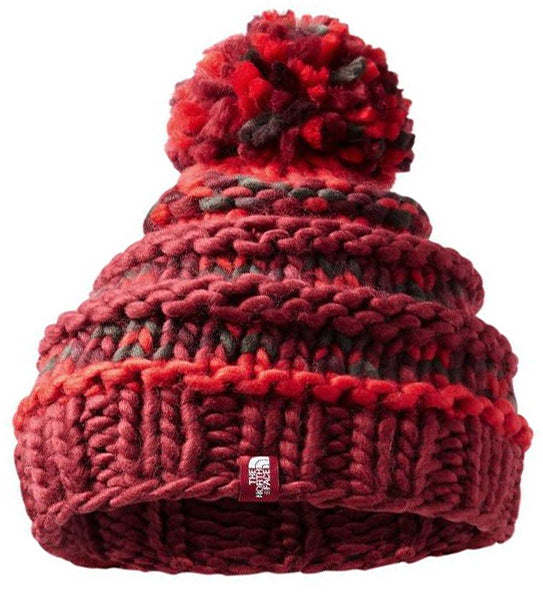 The North Face Women's Nanny Knit Beanie -Red-