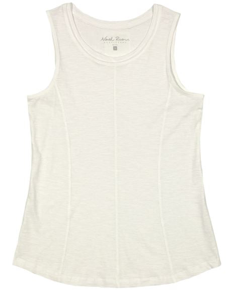 North River Woven's Solid Slub Tank
