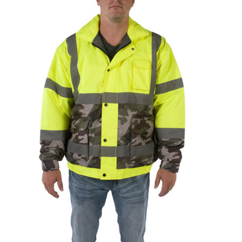 Utility Pro Men's High-Vis Insulated Bomber
