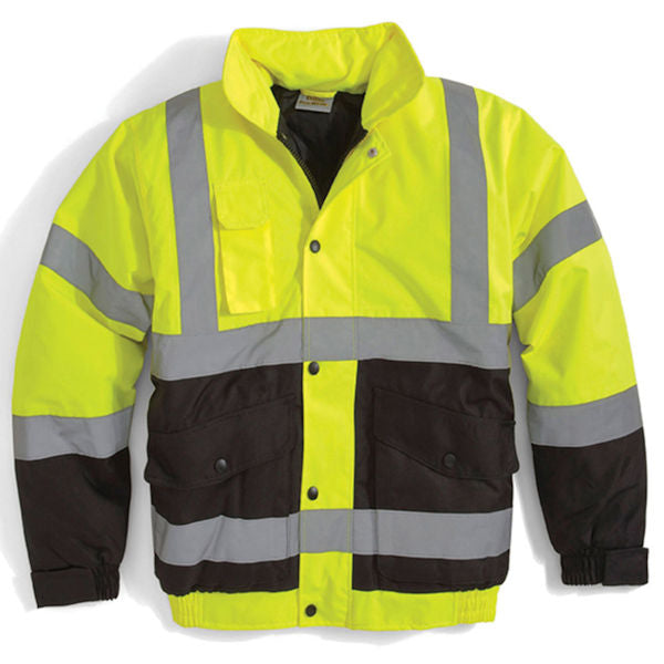 Utility Pro High-Vis Insulated Bomber Jacket