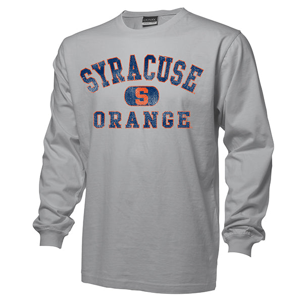 Syracuse Men's Arch Oval Long-Sleeve Tee