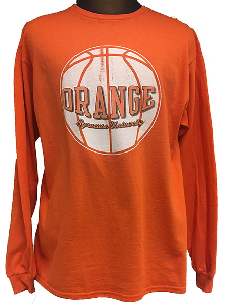 Syracuse Men's Basketball T-Shirt -Orange-