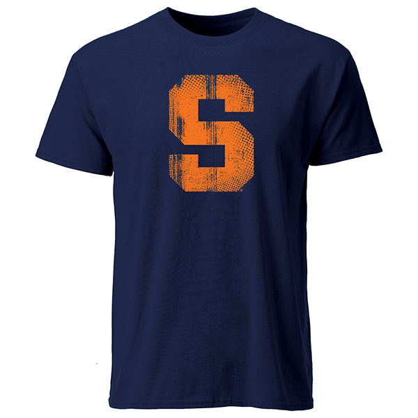 "Syracuse Men's Big ""S"" Tee -Navy-"