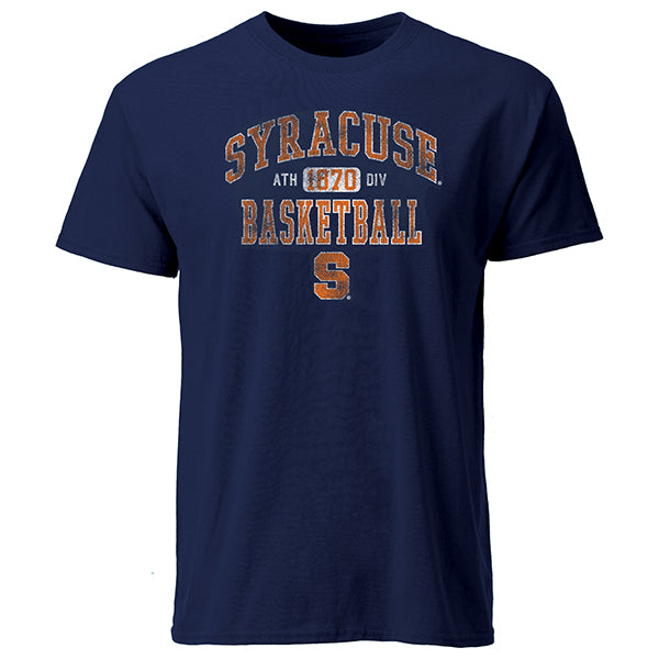 Syracuse Men's Arch T-Shirt -Navy-
