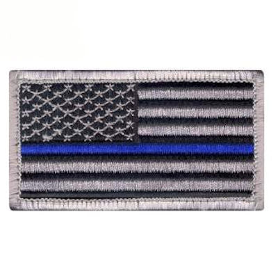 Rothco Thin Blue Line Flag Patch