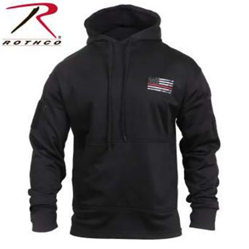 Rothco Men's Thin Red Line Concealed Carry Hoodie