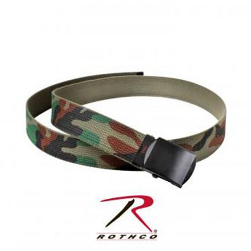 Rothco Camo Reversible Web Belt -Olive Drab/Camo-