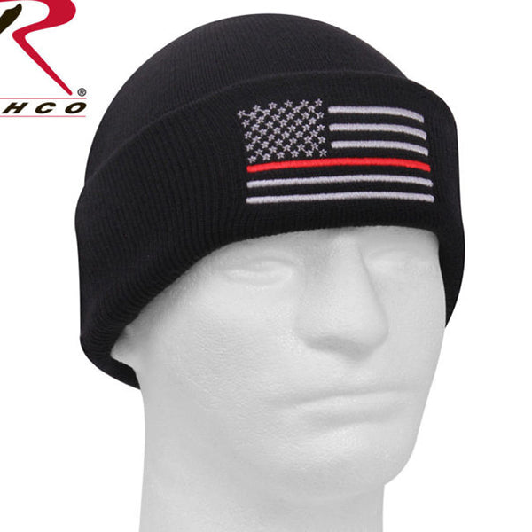 Rothco Thin  Red Line Deluxe Watch Cap