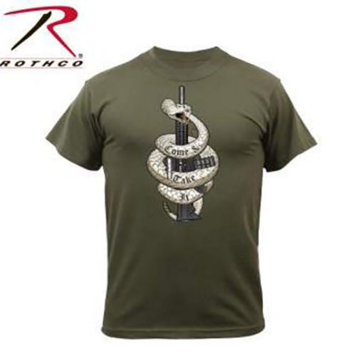 Rothco Come & Take It Tee -Olive Drab-