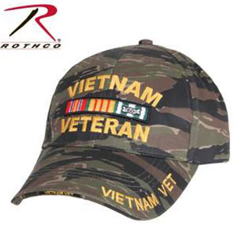 Rothco Low Profile Vietnam Tiger Stripe Cap
